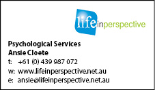 Life in Perspective web advert