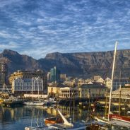 Table Mountain top tourist spot in South Africa